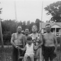 In front of Old House erly 1950s